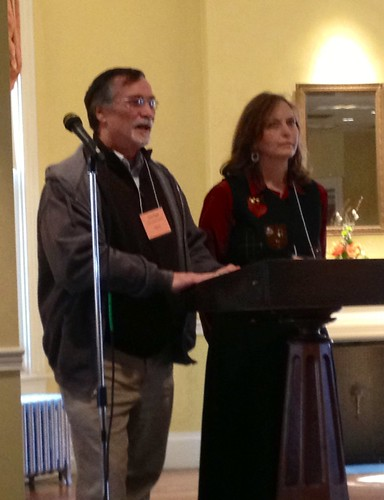 <p>Tom and Clara Pope of Christ Church, Harlan, give regional and personal perspectives on coal</p>