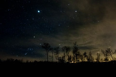 stellata ,pietra porcellara ,pc (FiPremo) Tags: stella tree night stars star pc italia nuvole cloudy val e carro piante pietra piacenza notte stelle romagna miglia pianeta trebbia parcellara bobbiano bobbianoditravo