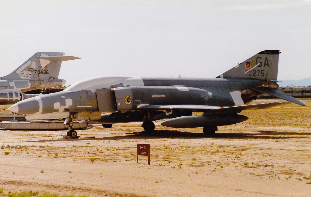 67 0275 (Al Henderson) Tags: George Desert Storage Killer Phantom Douglas F4