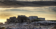 Fort Clonque on Alderney (neilalderney123) Tags: sunset