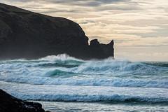 The raging sea (Ian@NZFlickr) Tags: ocean sea beach waves pacific nz otago dunedin peninsula allans