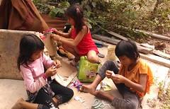Cambodian girls (Kens Photoworks) Tags: flickrandroidapp:filter=none preteengirls girls littlegirls youngchildren childreninpoverty child internationalmedicalteams medicalteams projecthelpinghands cambodia