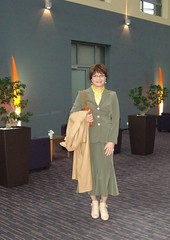 Pullman Hotel (Marie-Christine.TV) Tags: leather lady tv feminine coat tgirl business transvestite secretary businesssuit kostm mariechristine skirtsuit sekretrin ledermantel geschftsfrau