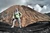 Abe G Diluar Tingkap (azrudin) Tags: portrait white mountain man clouds indonesia photographer infrared bromo mountbatok