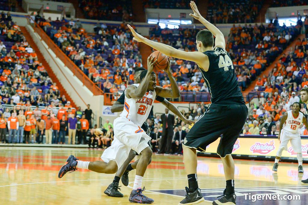 Clemson Photos: Damarcus  Harrison, Basketball, 20142015