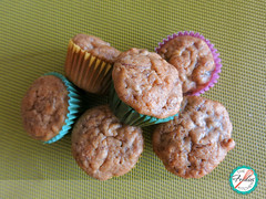 Mini Banana Mufins (The Foodies' Kitchen) Tags: kids healthy banana snacks lunchbox minimuffins loncheras