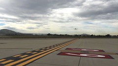 The final touchdown of an EVA Air B747-400 before being decommissioned. (MassieMeyer) Tags: video eva air landing boeing touchdown 747 b747 decommission b747400 ksbd sanbernardinointernationalairportsbd