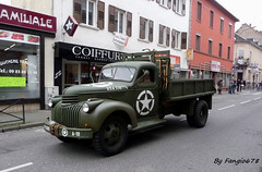 Dfil Militaire Camion Chevrolet (fangio678) Tags: chevrolet 22 11 strasbourg camion liberation couleur anniversaire militaire 1944 dfil 2014 commmoration bischheim 70eme
