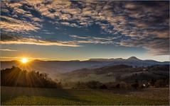 ci sono tramonti che..... (Luigi Alesi) Tags: light sunset sky italy clouds landscape nikon scenery san italia raw tramonto nuvole severino cielo luce marche paesaggio macerata sanseverino d7100 colmone gaglianvecchi