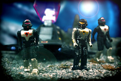 General Torvek scouts the area... (harrycobra) Tags: toys actionfigures diorama coleco starcom