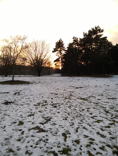 Schneeabend 1
