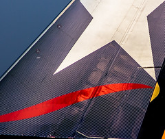 "part of the tail of a Boeing 777F from LAN cargo • <a style=""font-size:0.8em;"" href=""http://www.flickr.com/photos/125767964@N08/16559919451/"" target=""_blank"">View on Flickr</a>"