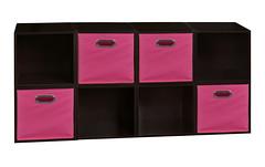 PC8PKTF4TOTEPK (Find My Niche) Tags: pink home closet niche bookshelf storage canvas organizer fabric modular cube custom truffle organization tote cubo nightstand multipurpose expandable darkbrown customizable multiuse mediastorage homestorage openstorage pc1211 canvasbin pc8pktf cubestorage htote htotepk htote4pkpk