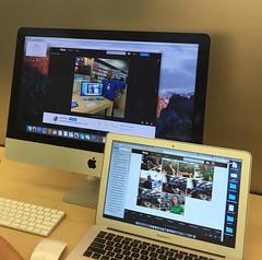 Apple Computers with OS X El Capitan Operating System (2016) (buddhadog) Tags: osx 200 elcapitan applecomputers macbookair applestorephiladelphia 100vu