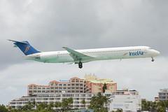 PJ-MDF McDonnell Douglas DC-9-83 at Sint Maarten (yyzgvi) Tags: air sint insel international douglas maarten bv mcdonnell md83 dc983 pjmdf