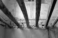Beams (msiapan) Tags: lefkara cyprus village abandoned house beams monochrome λεύκαρα κύπροσ δοκοί σπίτι εγακτελειμμένο μαυρόασπρο