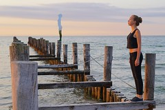 Rob Mulholland  Sea Daughter  Zings 2016 (franz-wegener.de) Tags: strand zingst robmulholland sonya7 sonyfe50mmf18 seadaughter