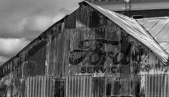 Ford (Meteorseeker) Tags: blackandwhite food building ford nature monochrome architecture trash canon insect outside desert outdoor nevada americana nationaltreasure oldwest oldnevada canon60d