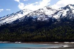 Eklutna Lake (andilooksprettyhuman) Tags: mountain mountains nature water alaska landscape outdoor mountainside
