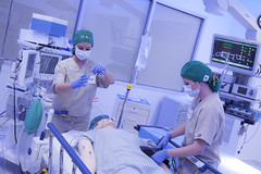 USF College of Nursing CRNA students conduct simulation training at CAMLS (USFHealthNurse) Tags: simulation surgery laboratory nurse nurses usf nursing anesthesia snra crna collegeofnursing surgeryroom usfhealth camls universityofsouthfloridacollegeofnursing usfhealthnursing usfhealthnurse