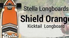 Stella Shield Orange (longboardsusa) Tags: stella orange usa skate shield skateboards longboards longboarding