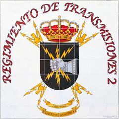 Azulejos. Regimiento de Transmisiones 2 (Madrid) (Juan Alcor) Tags: azulejos tiles madrid regimiento transmisiones 2 militar ceramica sanagustin fieripotest
