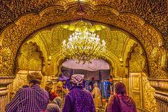 In The Golden Heart (Dovid100) Tags: india religious gold devotion sikh punjab amritsar goldentemple sanctumsanctorum