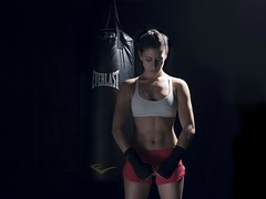 Flex (ImaginemProductions) Tags: sf portrait woman sports muscles speed bay high cool action kick panasonic area strong punch boxing combat fitness tough productions imaginem gh4
