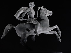 Alexander the great... (klentosharry) Tags: blackandwhite horse monument statue fuji culture hellas greece macedonia fujifilm bronzestatue timeless conqueror macedonian alexanderthegreat makedonia thessalonica      macedoniagreece   m historyofgreece  fujix20  ncientgreece