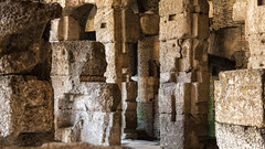 Colosseum, Underground (mindweld) Tags: italy rome colisseum romancolosseum
