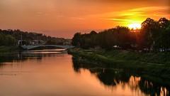 Tramonto sul Ponte da Verrazzano (Luna y Valencia) Tags: bridge sunset atardecer florence toscana puestadelsol verrazzano