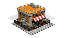 Kiosk_1 (atkaforce1) Tags: house lego modular moc ldd