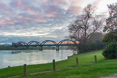 Balclutha (Natalia Volna itravelNZ@ travel app) Tags: newzealand buildings historical otago southland sh1 balclutha bridgesunsetcluthariver