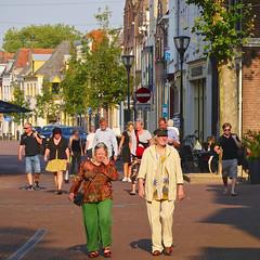 Ahead of the rest (andzwe) Tags: street portrait ahead colorful seniors kleurrijk straat selectivecolor zutphen voorop selectievekleur voordemuziekuit