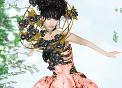 JUMO - Alberta Gown HOPE (Rehana MiSS SLVietnam, Face of CHOP ZUEY 2015) Tags: fashion secondlife laboheme boon rehana jumo slink posesion chopzuey rehanaseljan thecourageevent