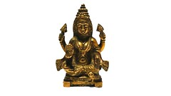 3.6 inches Brass Lakshmi Statue 370 gms 1 (cottagedel) Tags: indiangoddess laxmi lakshmi goddessofmoney goddessofwealth hindudiety handicrafts handcrafted handmade brass figurine statue gifting