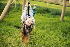 Go out, it is fun (mystero233) Tags: uk sunset portrait nature girl playground fun outside nikon women pretty play d750