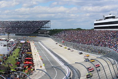 The view from Turn 4 of Dover Speedway (Hazboy) Tags: auto usa car monster race america drive us may racing nascar series delaware sprint dover mile aaa autism speedway 2016 hazboy hazboy1