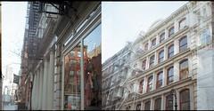 SoHo (Inside_man) Tags: nyc newyork film facade mediumformat lights manhattan soho pentaconsix overlapping pt6