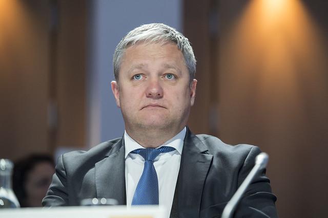 Saulius Girdauskas at the Closed Ministerial Session
