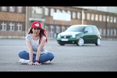 * (Henrik ohne d) Tags: portrait car vw katinka lupo ef85mmf18 eos5dmk2 may2016