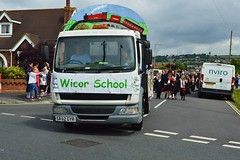 Wicor School (PD3.) Tags: street white castle fun harbour band hampshire lane hart float gala floats fareham portchester hants