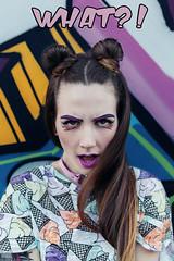 MISSY POP (DeboraDiDonato) Tags: portrait art colors fashion canon comics outfit model surrealism cartoon makeup surreal style pop what editorial shooting concept conceptual styling concettuale modella missypop