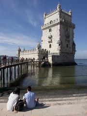 Torre de Belm (boncey) Tags: people portugal lenstagged lisbon olympus ep3 torredebelm 1240mm olympusep3 olympuspenep3 camera:model=olympuspenep3 lens:make=olympus lens:model=olympus1240f2828 olympus1240f2828 photodb:id=23768