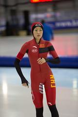 A37W0164 (rieshug 1) Tags: ladies sport skating worldcup groningen isu dames schaatsen speedskating kardinge 1000m eisschnelllauf juniorworldcup knsb sportcentrumkardinge worldcupjunioren kardingeicestadium sportstadiumkardinge