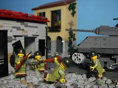 25 May 1944- Cisterna (Sgt._Johnson) Tags: city italy lego wwii battle german american anzio