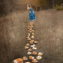 A path to Wonderland (Fer Siciliano) Tags: flowers party fairytale forest t dress time tea retrato alice fantasy dreams wonderland