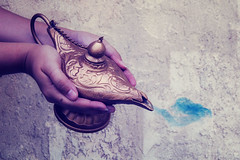 Genie in the lamp #3 (Lisa Marie Gonzalez) Tags: aladdin genie lamp fairytale arabian night fantasy mystical magic myth mythical magical photographer photography photoshop photoshopped edit edited manipulated manipulate manipulation