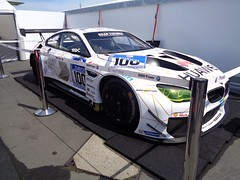 BMW M6 GT3 (911gt2rs) Tags: white rennen coupe spoiler bimmer widebody 24h nrburgring nurburgring weis f13 rennwagen