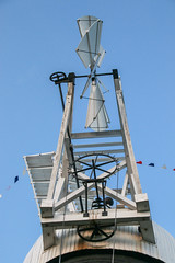 Holgate Windmill fantail, June 2016 - 1